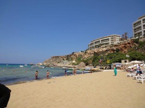 Malta Juni 2015, Golden Bay