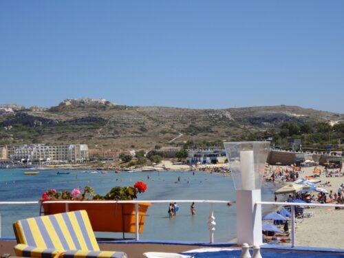 Malta Juni 2015, Mellieha Bay