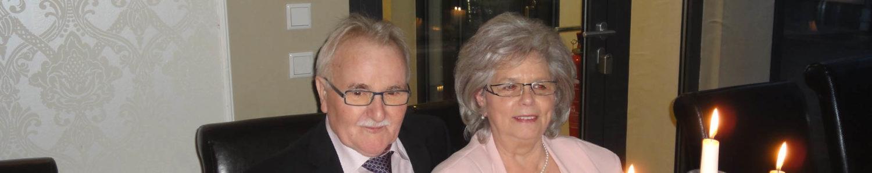 Goldene Hochzeit - Gisela und Wolfgang Burger, 11. Dezember 2015