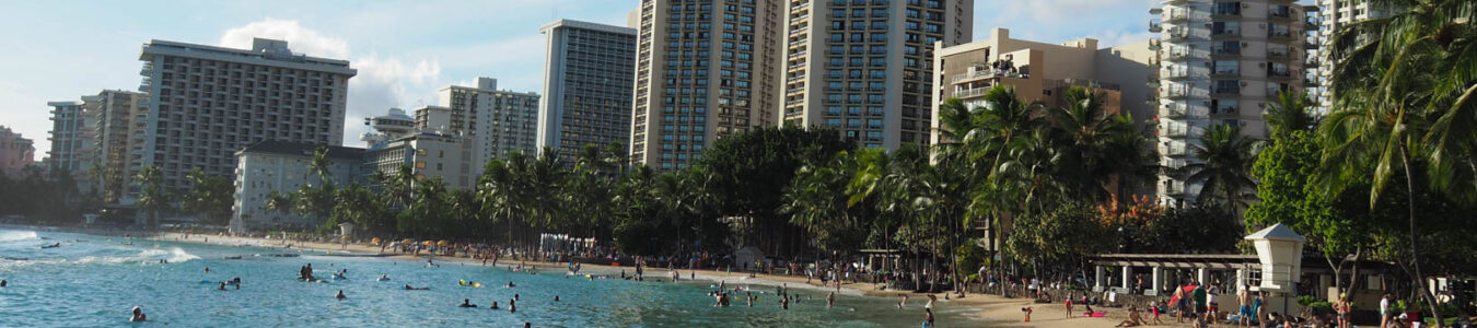 Honolulu - Waikiki Beach