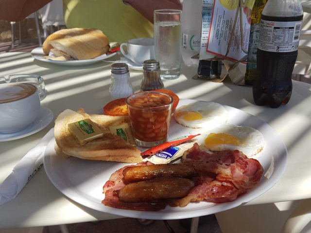 Malta - British Breakfast