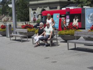 Besuch Gisela und Wolfgang - Juli 2018