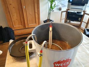 Bierbrauen - dunkles Weissbier